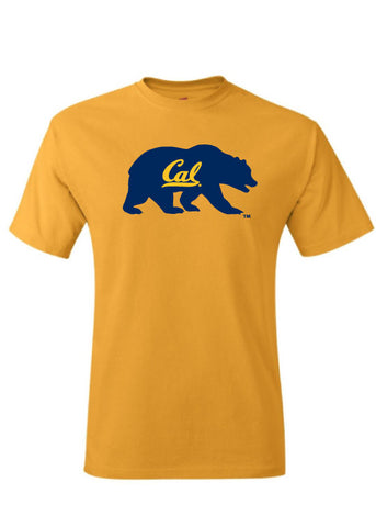 Walking Bear with Cal Script T-Shirt