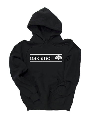 Oakland Stripe Pullover Hoodie