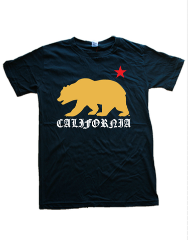 Golden California Bear Tee