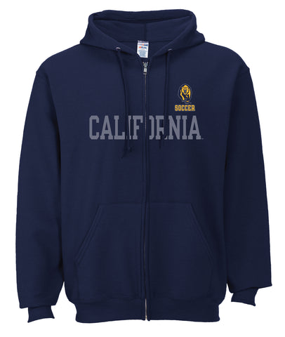 California Soccer Cal Zip Hood