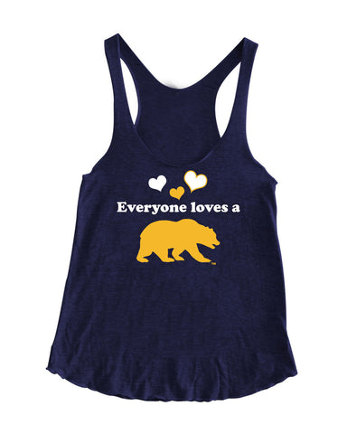 American Apparel, Cal Script, Campanigle, California Walking Bear, Oski mascot bear, California Golden Bears, UC Berkeley school seal, California Football and such.