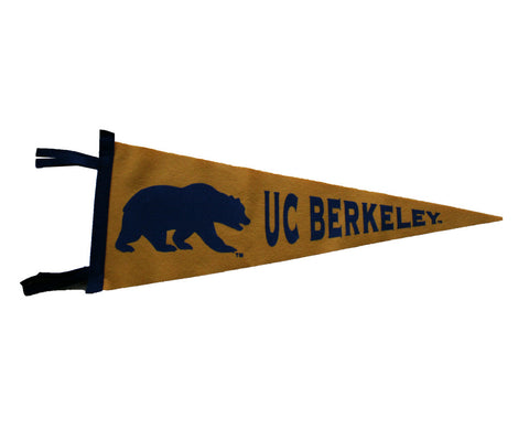 Walking Bear U C Berkeley pennant
