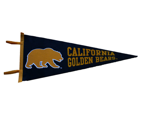 Walking Bear California Golden Bears pennant