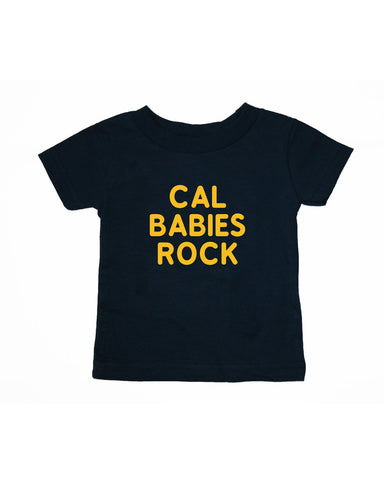 Cal Babies Rock Infant Tee