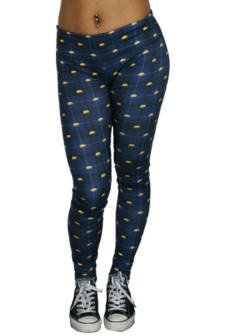 League Printed California Walking Bear Leggins