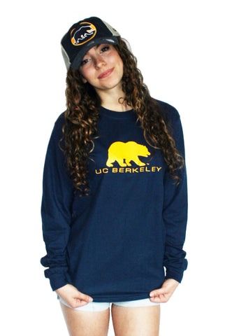 UC Berkeley Bearl Long Sleeve Tee