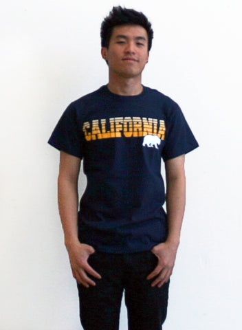 M V Sport California Bear Tee