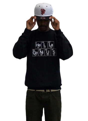 Hella Genius Crew Neck Sweatshirt
