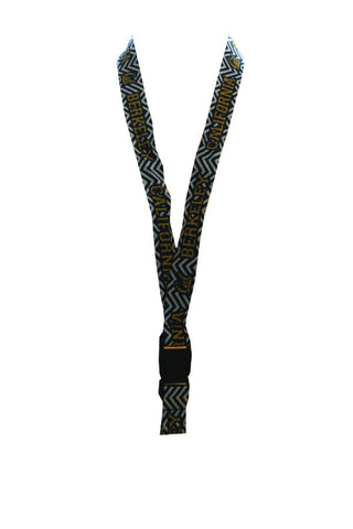 Chevron Stripe Cal Berkeley Lanyard