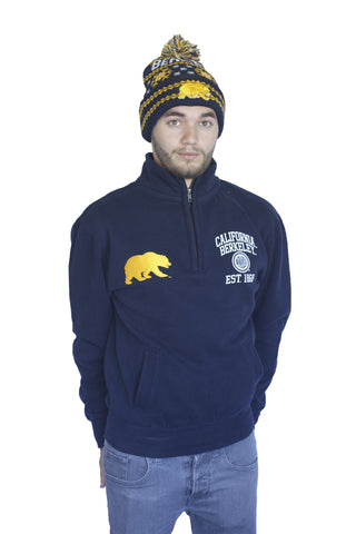 M.V. Sport California Walking Bear 1/4 Zip Fleece