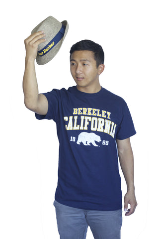 M V Sport Berkeley California bear Tee