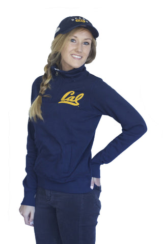 Cal Script 1/4 Zip Super Soft Fleece