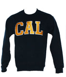 Cal Block Satin Patch Crewneck