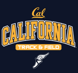 Champion California Track and Field Tee