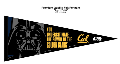 Star Wars California Golden Bears Pennant