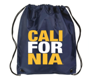 California Drawstring Bag