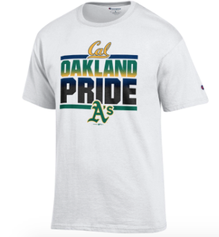 My Teams Cal and Oakland A's Baseball Tee
