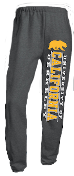 Jerzees University of California Berkeley Sweatpants