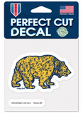 Walking Bear Decal Vintage Vault Design