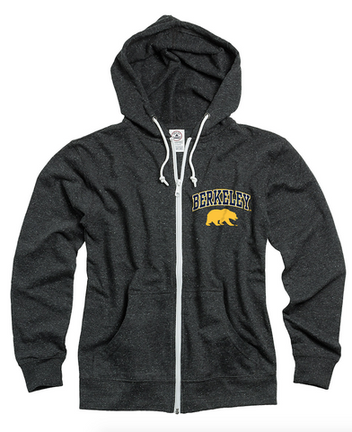 Berkeley Bear Zip Hood