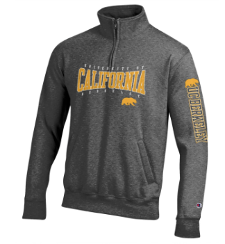 Champion University of California Berkeley 1/4 Zip Fleece