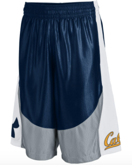 Under Armour California  Cal Basket Ball Shorts