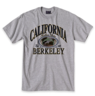 M V Sport Sather Gate UC Berkeley Tee