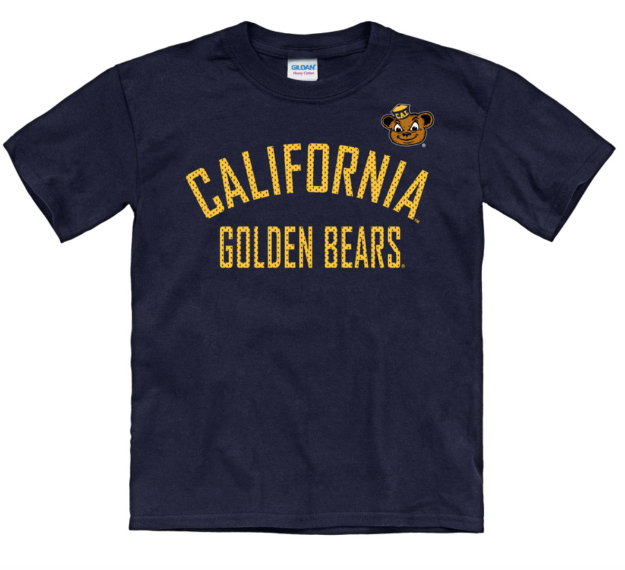 best loved a9038 90306 California Golden Bears Youth Tee