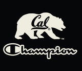 Champion Cal Bear  1/4 zip Windbreaker