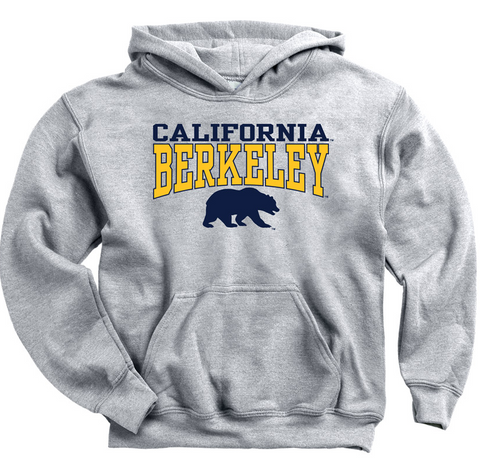California Berkeley Bear Youth Hood