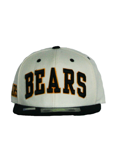 Adjustable Bears Hat.   All items are trademarked by University of California Berkeley with their official logos. Cal Script, Campanigle, California Walking Bear, Oski mascot bear, California Golden Bears, UC Berkeley school seal, California Football and such.