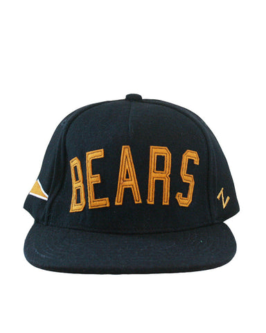 Bears Wool Adjustable Hat. All items are trademarked by University of California Berkeley with their official logos. Cal Script, Campanigle, California Walking Bear, Oski mascot bear, California Golden Bears, UC Berkeley school seal, California Football and such.