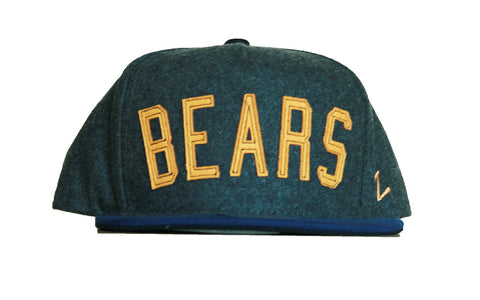 Bears Two Toned Wool Adjustable Hat