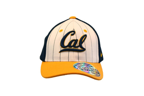 Baseball Stripe Cal Script Zephyr Adjustable Toddler Hat