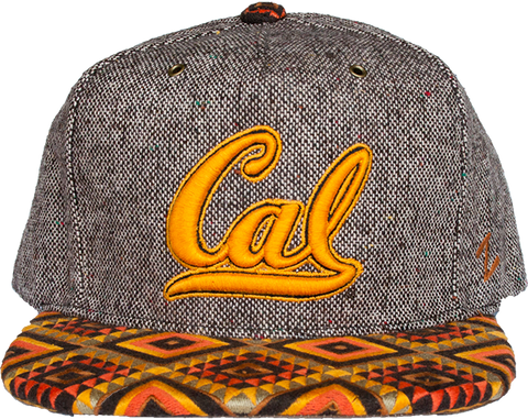 Cal Wool Tribal Print Brim Hat
