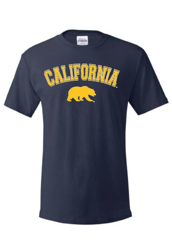 California Arch with Walking Bear Tee