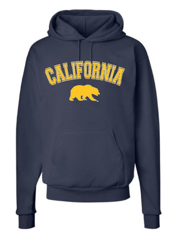 California Arch with Walking bear Hoodie