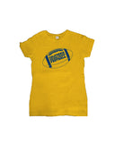 Football with text Women's Tee
