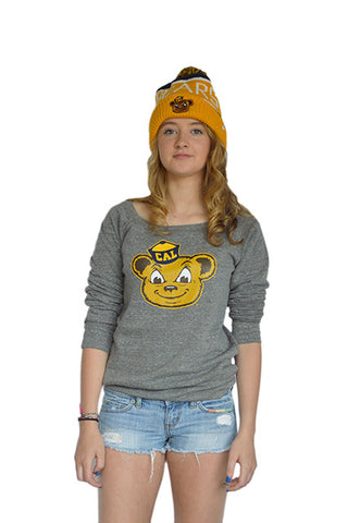 Oski off shoulder fleece