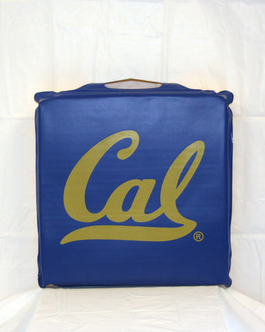 vAll items are trademarked by University of California Berkeley with their official logos. Cal Script, Campanigle, California Walking Bear, Oski mascot bear, California Golden Bears, UC Berkeley school seal, California Football and such.
