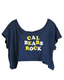 Cal Bears Rock Crop Top