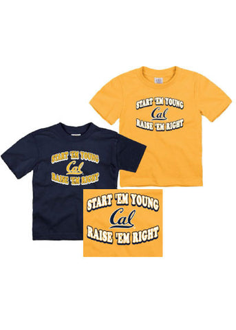 Cal Raise them Right Youth Tee