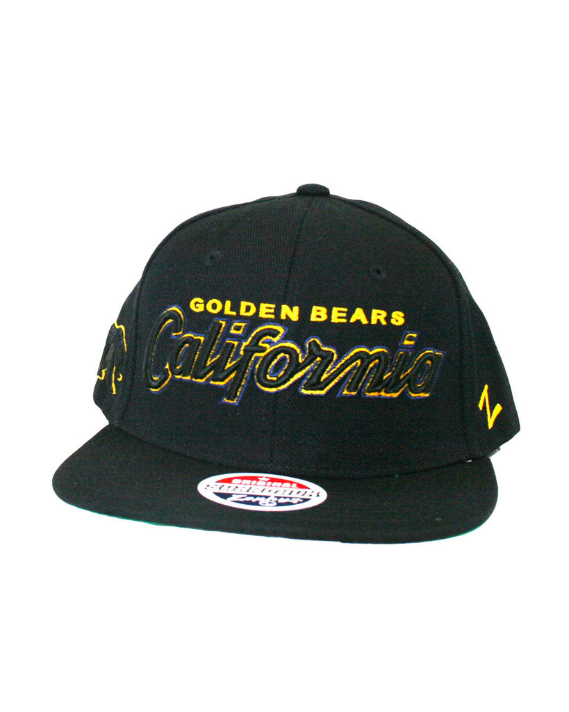 Snap back California Golden Bears Hat – Bear Basics f34f808dc1c