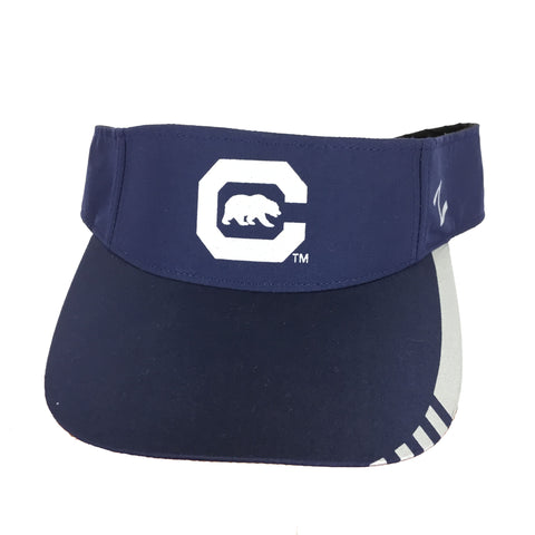 Navy Block C With Walking Bear Visor