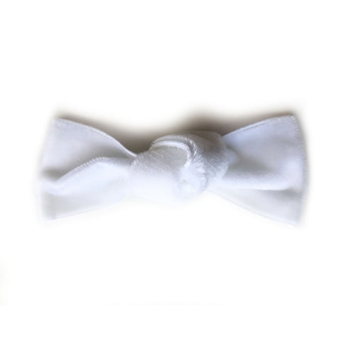 Blanco Hair Bow
