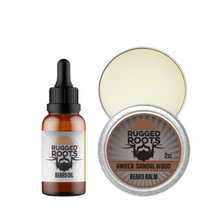 Load image into Gallery viewer, Beard Oil and Balm Bundle (SAVE 17%)