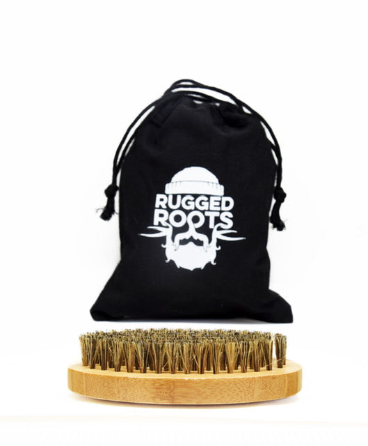 Rugged Roots Boar Brush and Comb Set
