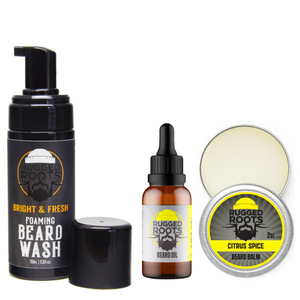 Rugged Beard Care Bundle (SAVE 22%)
