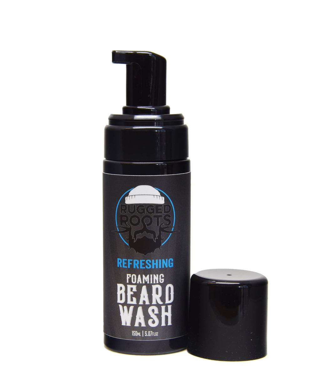 Foaming Beard Wash - Refreshing