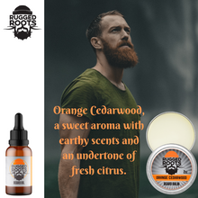 Load image into Gallery viewer, Orange Cedarwood Beard Balm